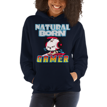 Load image into Gallery viewer, Natural Born Gamer Women's Hoodies