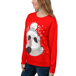 So Cold But Sweet Panda Women's Sweatshirt