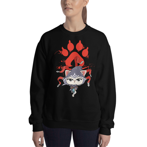 Feline Assassin Women's Sweatshirt