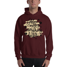 Load image into Gallery viewer, Coffee Makes Everything Better Men's Hoodies