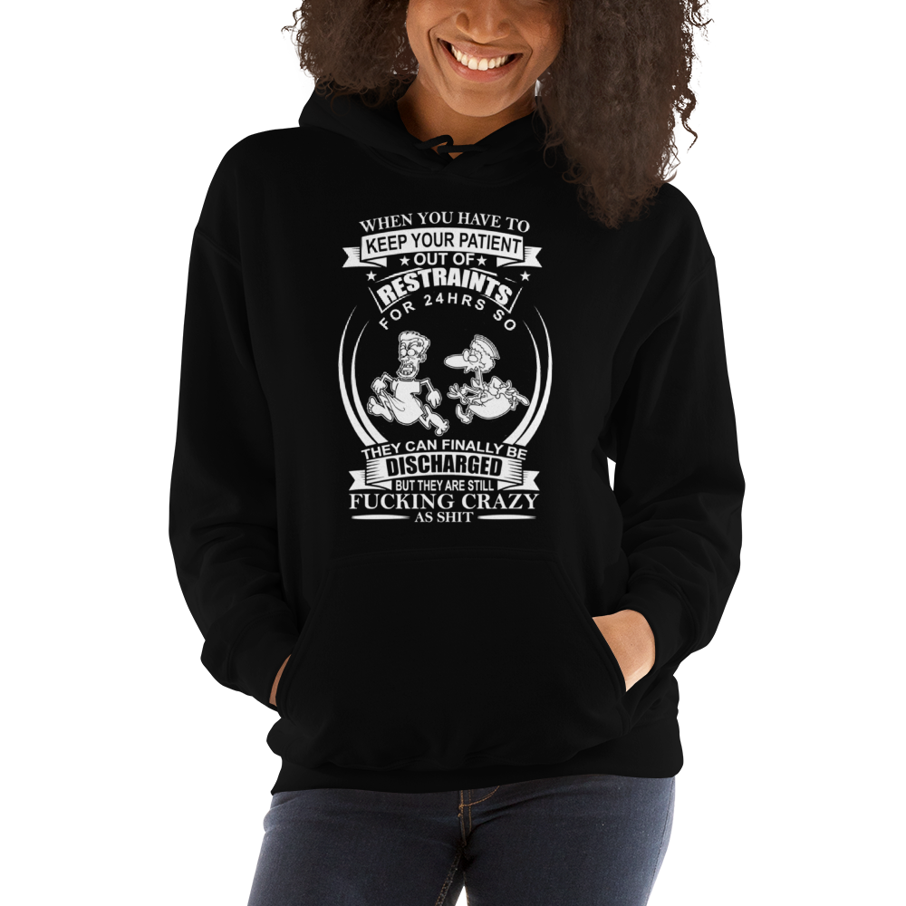 Crazy Patient Women's Hoodies