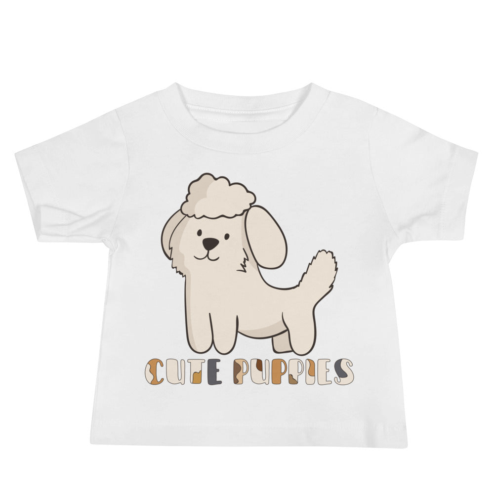 Cute Puppies Baby Tee's