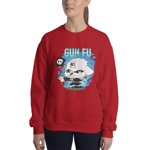 Dog Wick Gun Fu Women's Sweatshirt