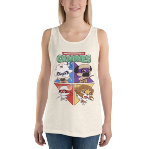 Teenage Mutant Ninja Canines Women's Tank Tops