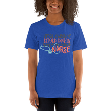 Load image into Gallery viewer, Hard Working Nurse Women's Tee's