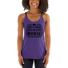 Load image into Gallery viewer, Don't Worry I'm A Nurse Women's Tank Tops