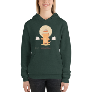 Cats Love Yoga Women's Hoodies