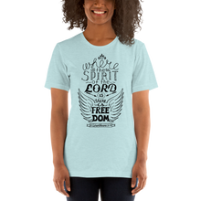 Load image into Gallery viewer, Corinthians 3:17 Women's Tee's
