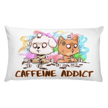 Load image into Gallery viewer, Caffeine Addict Premium Pillow