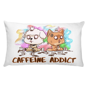 Caffeine Addict Premium Pillow