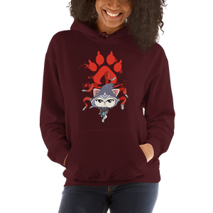 Feline Assassin Women's Hoodies