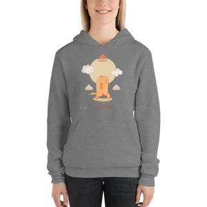 Cresent Pose Yoga Women's Hoodies