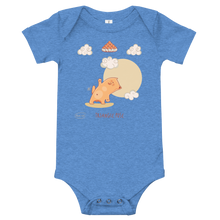 Load image into Gallery viewer, Triangle Pose Yoga Baby Bodysuit