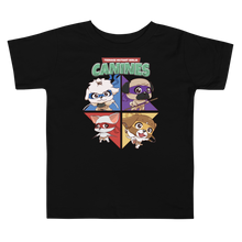 Load image into Gallery viewer, Teenage Mutant Ninja Canines Toddler Tee's