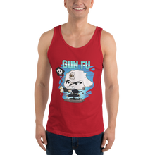 Load image into Gallery viewer, Dog Wick Gun Fu Men's Tank Tops