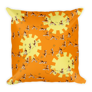 Sun Salutation Premium Pillow