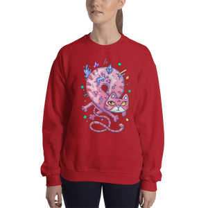 Infinity Cat Women's Sweatshirt