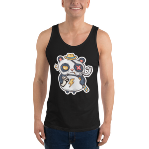 Eye Patch Panda Men's Tank Tops