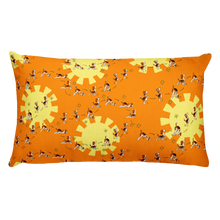 Load image into Gallery viewer, Sun Salutation Premium Pillow