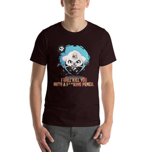 Kill You With A Pencil Men's Tee's