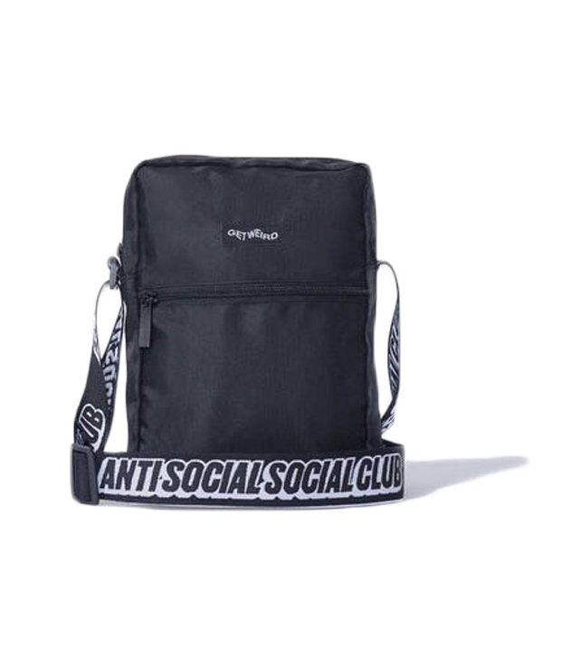 Anti Social Social Club Shoulder Bag Black