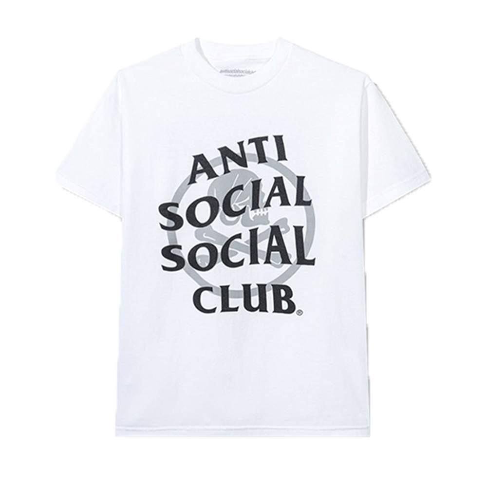 Anti Social Social Club x Neighborhood Cambered Tee White