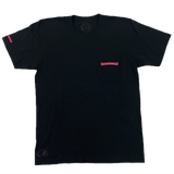 Chrome Hearts Made in Hollywood Tee Black/Pink