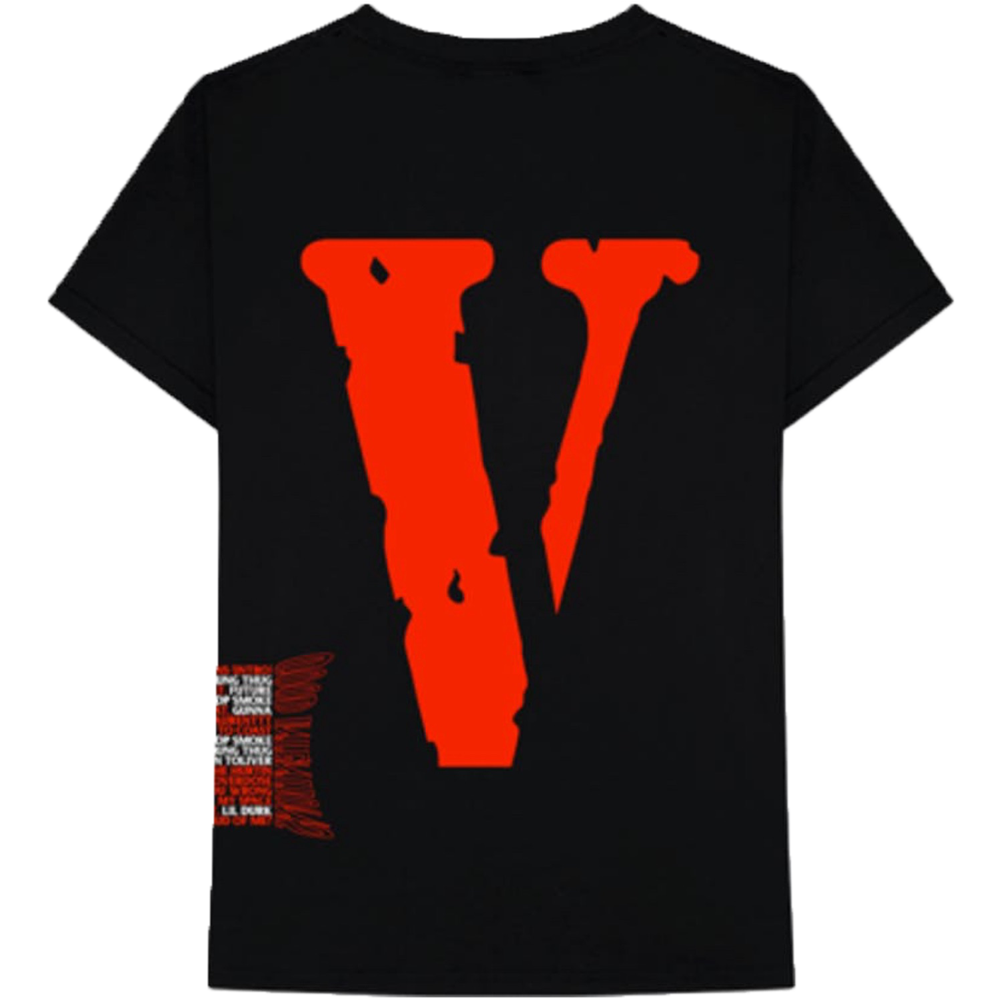 NAV X Vlone Good Intentions Black Tee