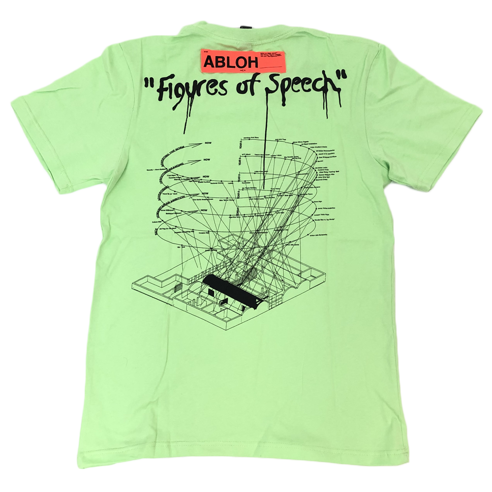 Virgil Ablo X MCA Figure Of Speech Tee Green