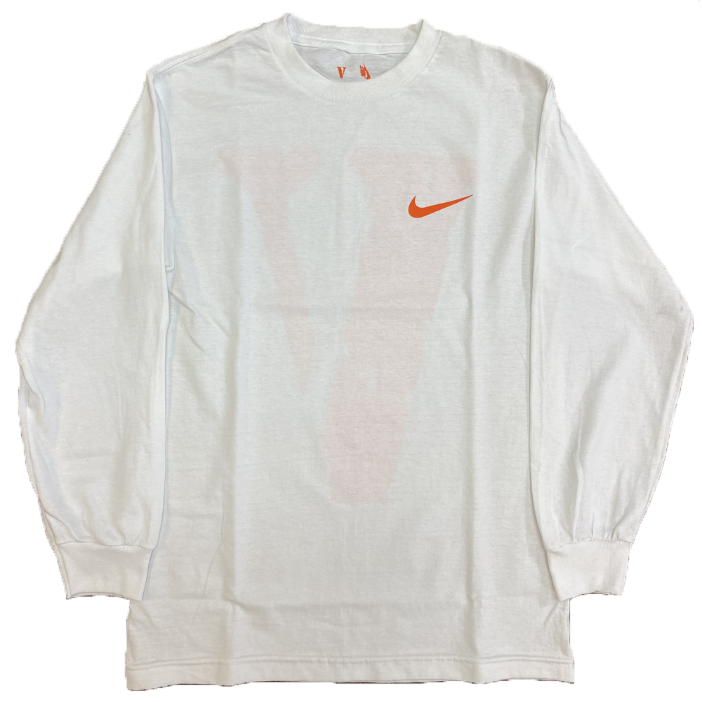 Vlone X Nike Longsleeve T-Shirt White (SAMPLE)