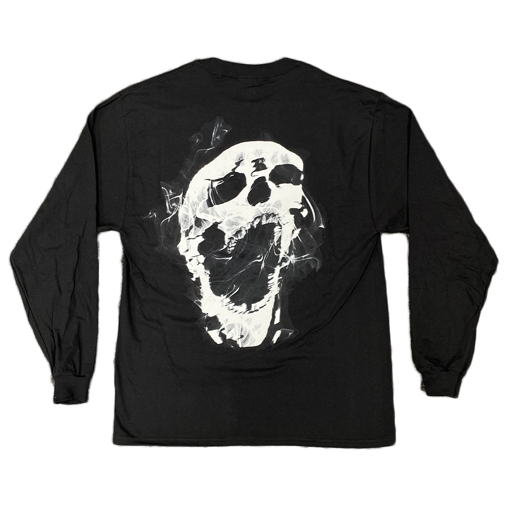 Revenge Smoke Long Sleeve Tee Black