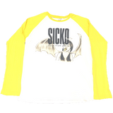 Sicko Born From Pain Yellow Longsleeve Tee