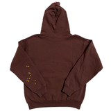 Spider Worldwide Angel Number Hoodie Brown