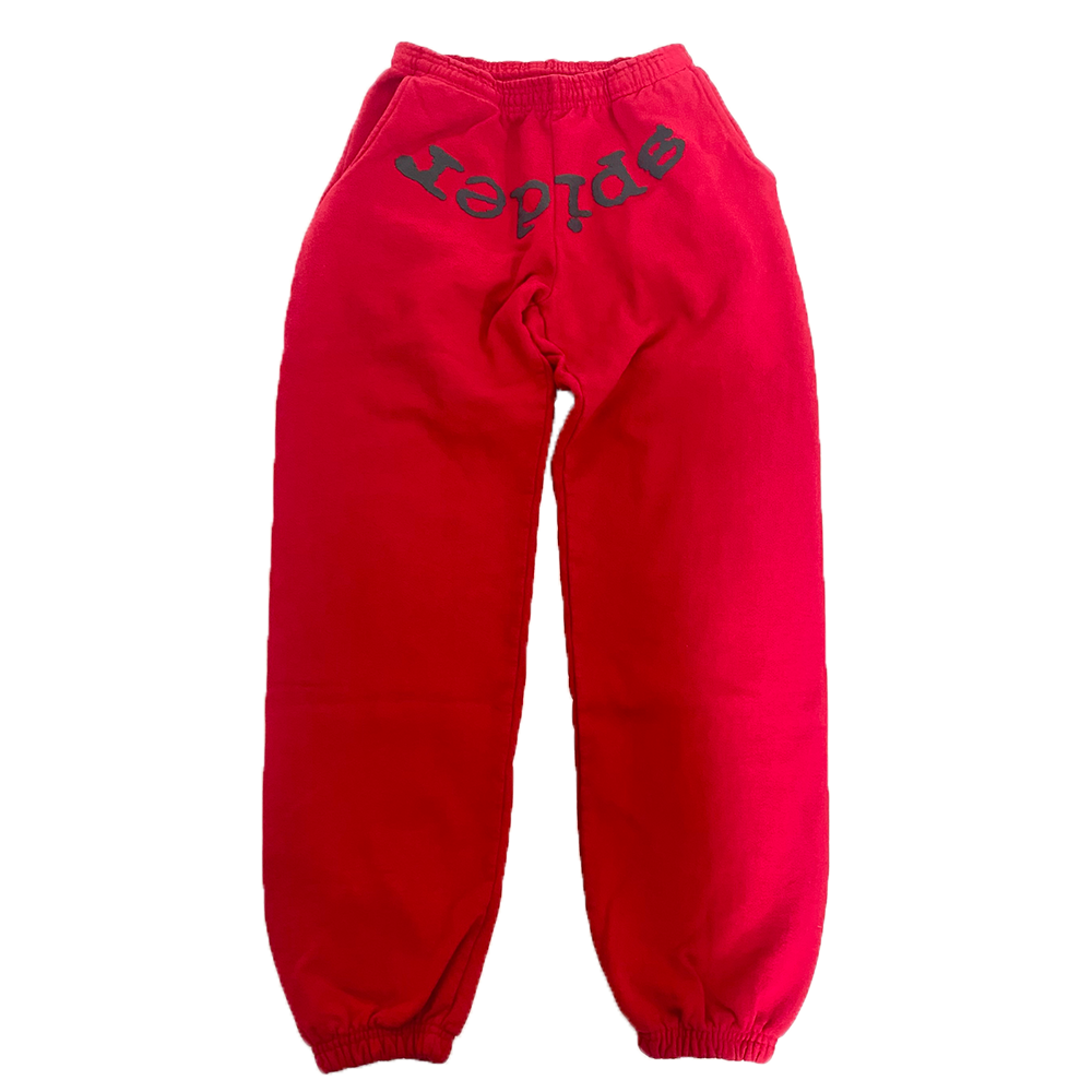 Spider Worldwide Sweatpants Red