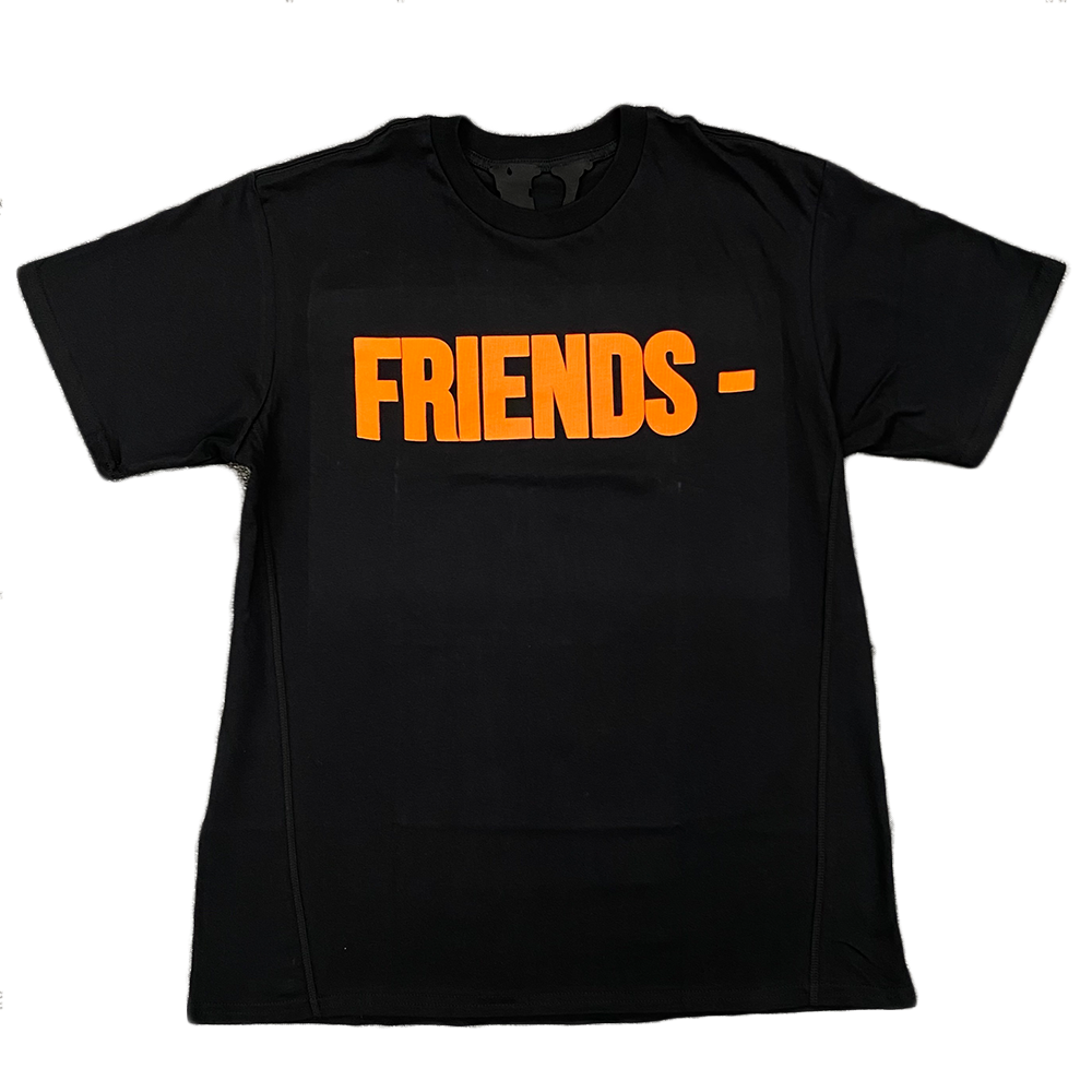 VLONE Friends Tee Black Orange