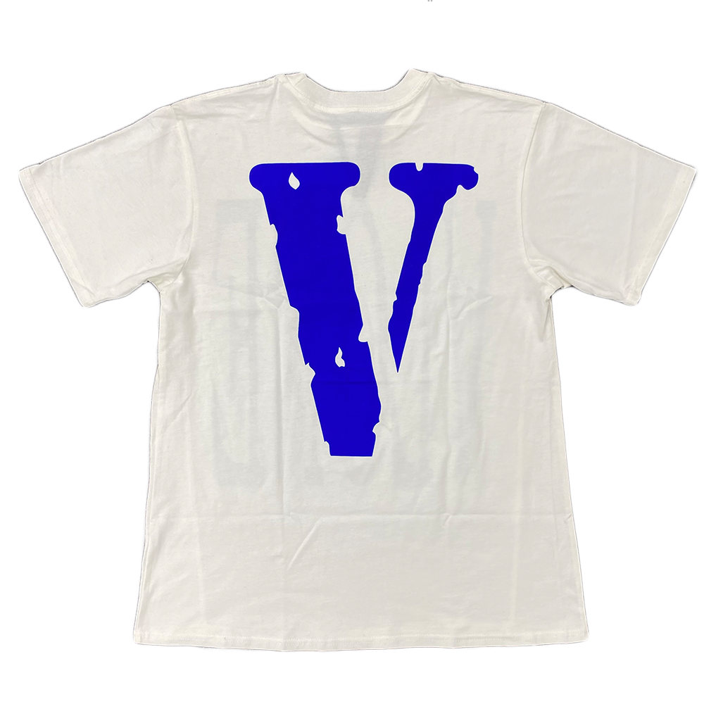 VLONE Staple Tee White/Blue