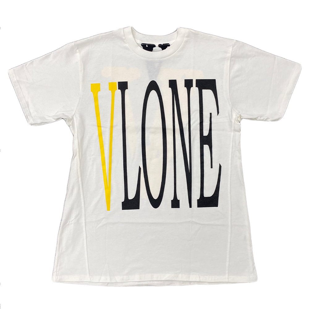 VLONE Staple Tee White/Yellow