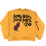 Cactus Plant Flea Market Yams Day In Loving Memory L/S Tee Yellow