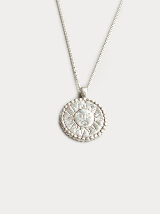 THE SUN COIN NECKLACE