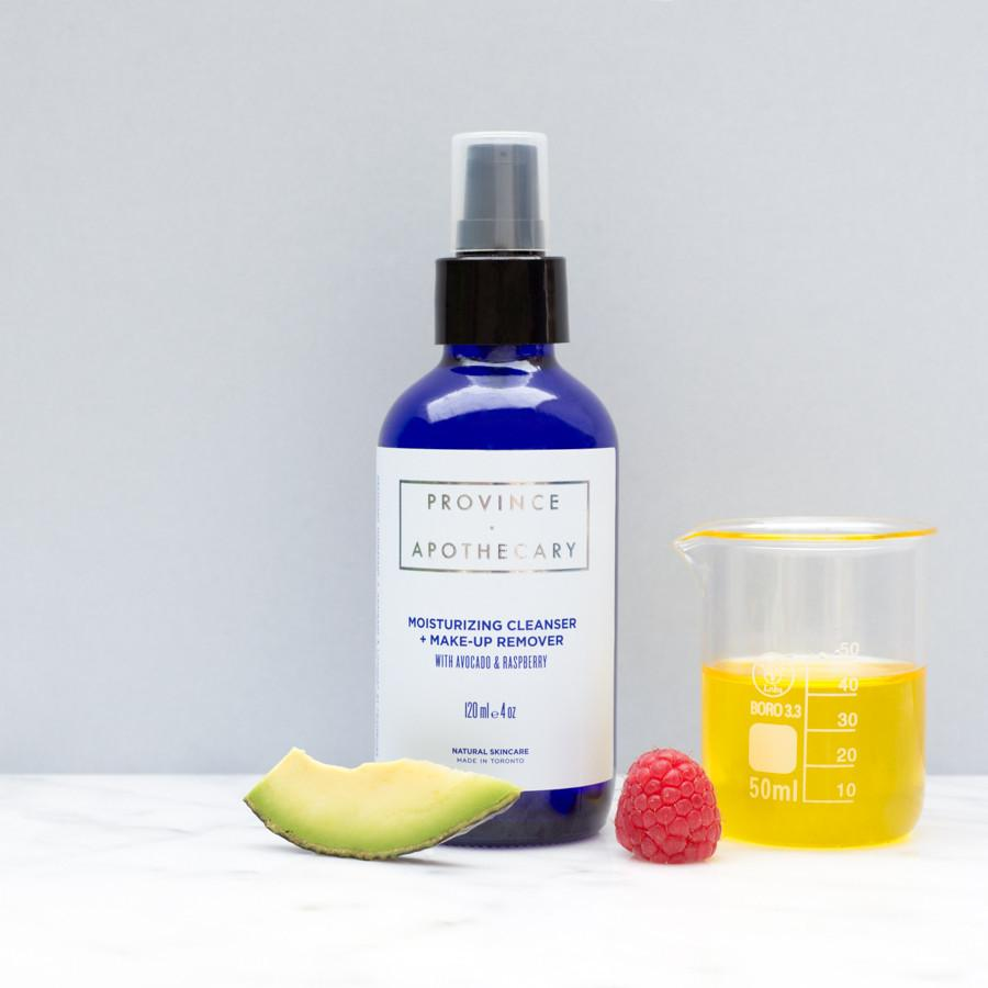 MOISTURIZING OIL CLEANSER + MAKE UP REMOVER