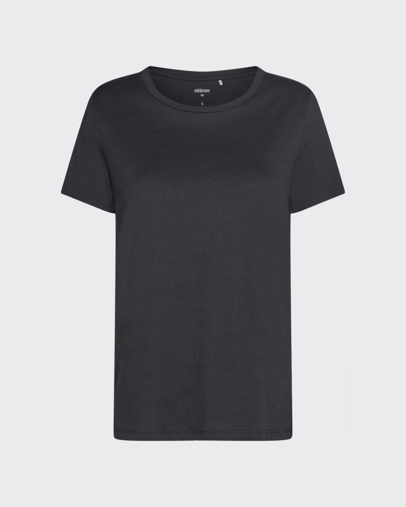 COTTON BLACK TEE