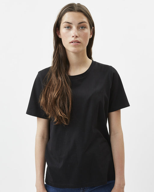 ORGANIC COTTON BLK TEE