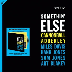 Cannonball Adderley - Somethin' Else (LP+CD)