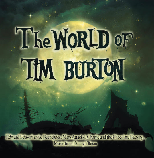 [PRE-ORDER] Danny Elfman, Howaed Shore, Stephen Sondheim - The World of Tim Burton
