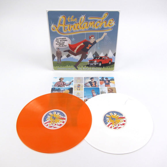 SUFJAN STEVENS – The Avalanche (2LP/Hatchback Orange + Avalanche White Vinyl)