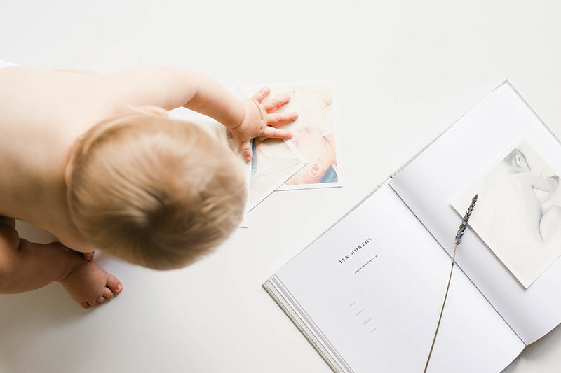 Featuring: The Minimalist Baby Book By Tokki Goods