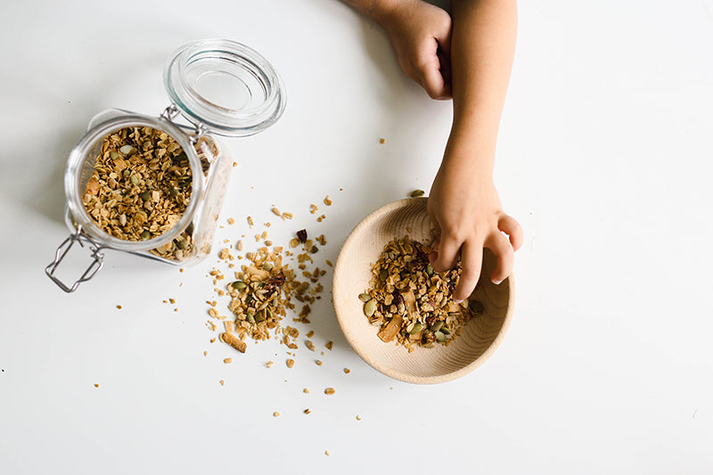 Toddler Approved Homemade Granola