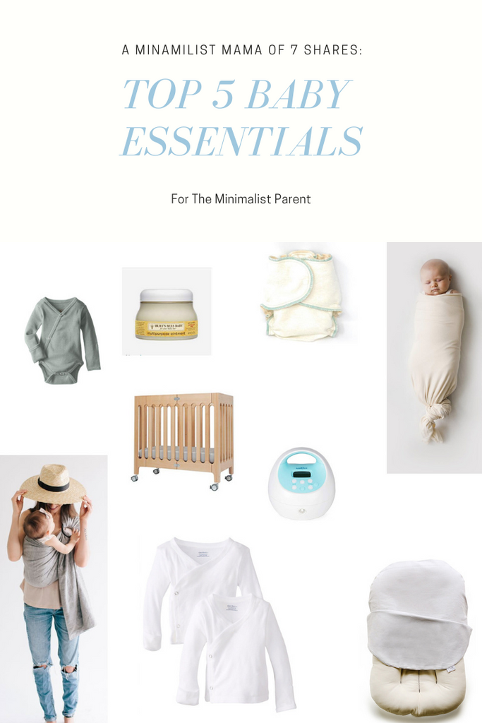 Top 5 baby essentials for the minimalist parent