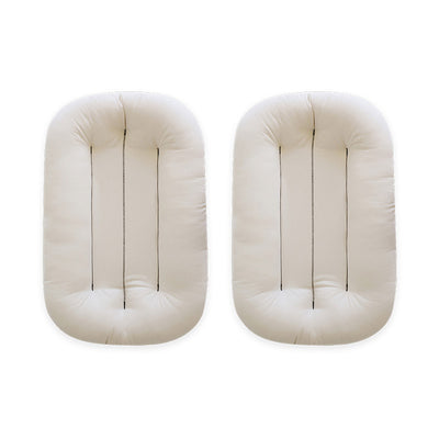 Natural Infant Lounger Twin Pack