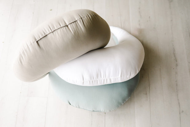 Imperfect Feeding + Support Pillow | Slate